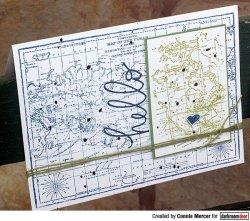 画像3: Map /Texture Stamp (Cling Foam Stamp)