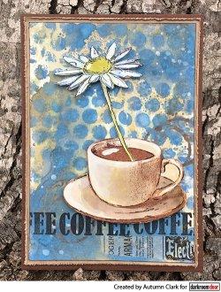 画像2: Coffee Time (Cling  Foam Stamps)