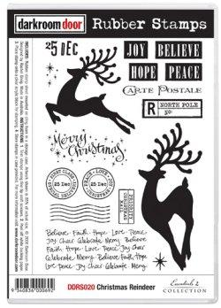 画像1: Christmas Reindeer (Cling Foam Stamps)
