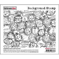 画像1: Postmarks  - Background Stamp (Cling Foam Stamp)