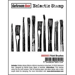画像1: Paint Brushes- Eclectic Stamp (Cling  Foam Stamp)