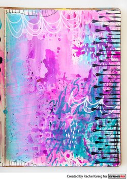 画像3: Paint Drips : Eclectic Stamp