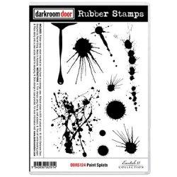 画像1: Paint Splats (Cling  Foam Stamps)