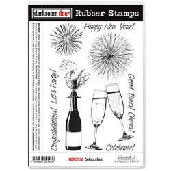 画像1: Celebration (Cling  Foam Stamps)