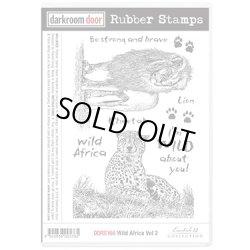 画像1: Wild Africa Vol 2(Cling  Foam Stamps)