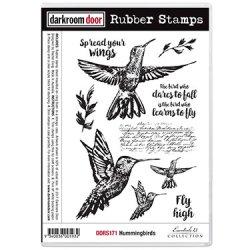 画像1: Hummingbirds(Cling  Foam Stamps)