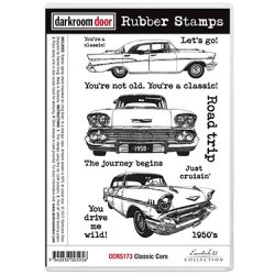 画像1: Classic Cars  (Cling  Foam Stamps)