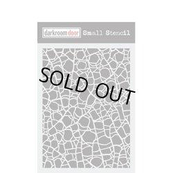 画像1: Crackle : Darkroom Door Small Stencil