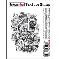 画像1: Postage Stamps /Texture Stamp -  (Cling Foam Stamp)