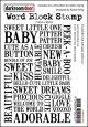 BABY-Word Block Stamp(UM)