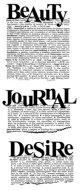 Beauty Journal Desire:Dictionary Stamp (UM)