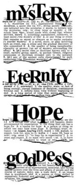 画像1: Mystery Eternity Hope Goddess :Dictionary Stamp (UM)