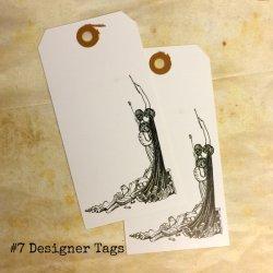 画像1: #7 Designer Tags (10枚入り)