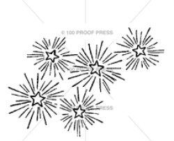 画像1: LARGE Sparkling Star Cluster