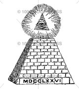 All Seeing Eye and Pyramid