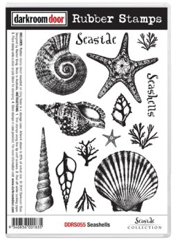 画像1: Seashells (Cling Foam Stamp)