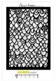 Pochoir A6 : Scalloped Texture by B. Koopsen