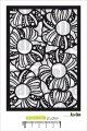 Pochoir : Fleurs by Azoline