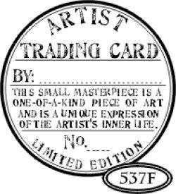 画像1: Artist Trading Card Seal (UM)