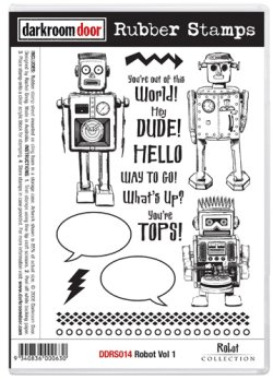 画像1: Robot Vol.1 (Cling Foam Stamp)