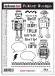 Robot Vol.1 (Cling Foam Stamp)