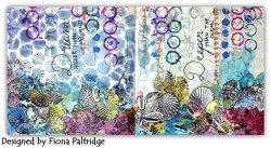 画像2: Seashells - Border Stamp (Cling Foam Stamp)