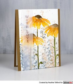 画像2: Tall Flowers(Cling  Foam Stamps)
