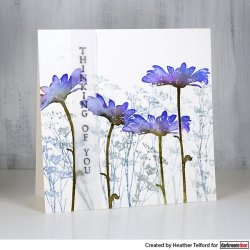 画像4: Tall Flowers(Cling  Foam Stamps)