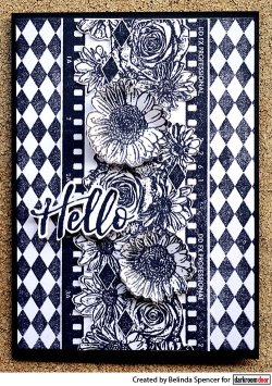 画像2: Flower Bed Border Stamp (Cling  Foam Stamps)