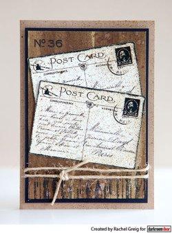 画像2: Paris Postcard : Eclectic Stamp