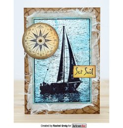 画像2: Sail Boat-Photo Stamp (Cling Foam Stamp)