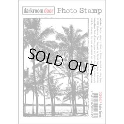画像1: Palm Trees -Photo Stamp (Cling Foam Stamp)