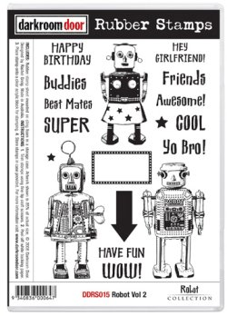 画像1: Robot Vol.2 (Cling Stamp)