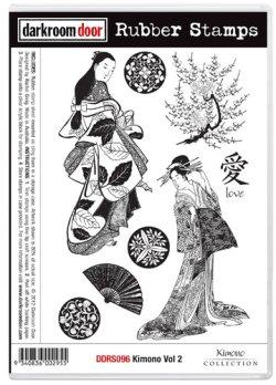 画像1: Kimono Vol.2 (Cling Foam Stamp)