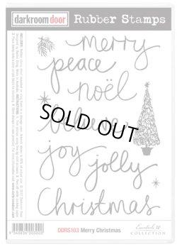 画像1: Merry Christmas (Cling  Foam Stamps)
