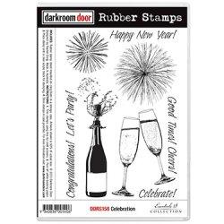 画像1: Celebration (Cling  Foam Stamps)
