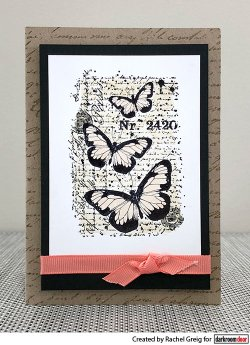 画像2: Butterfly Script (Cling  Foam Stamps)