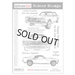 画像1: Classic Cars Vol.2 (Cling  Foam Stamps)