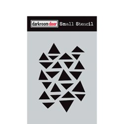 画像1: Arty Triangles: Darkroom Door Small Stencil