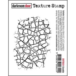 画像1: Crackle /Texture Stamp -  (Cling Foam Stamp)