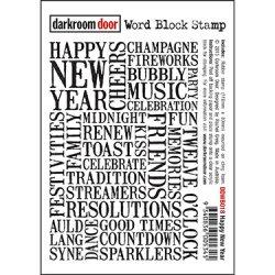 画像1: Happy New Year (Cling  Foam Stamps)