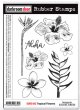 Tropical Flowers (Cling  Foam Stamps)