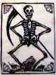 Grim reaper, skeleton