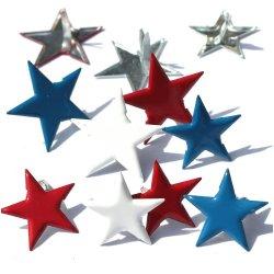 画像1: Stars - Red, White & Blue -EYELET OUTLET BRADS