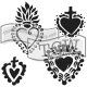"Regal Hearts/Crafter's Workshop Template 6""X6"""