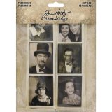 Idea-Ology Photobooth Vintage Photo Strips 40/Pkg