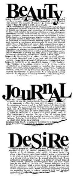 画像1: Beauty Journal Desire:Dictionary Stamp (UM)