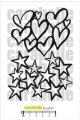 Hearts and Stars (A6 Mask)