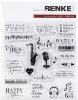 All Music :Alexandra Renke Music Clear Stamps