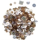 Copper Mix: Dress My Crafts Sequins 25g